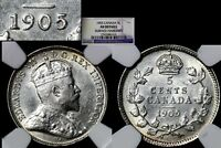 XMAS   5 CENT VARIETY 1905 REPUNCHED 5   AU  L024