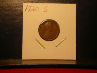 1920  S  LINCOLN WHEAT-BACK CENT   SAN FRANCISCO