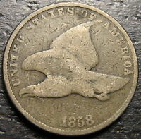 1858 FLYING EAGLE CENT  --  MAKE US AN OFFER  R4479