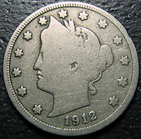 1912 S LIBERTY V NICKEL  --  MAKE US AN OFFER  R5243
