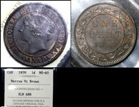 BLACK FRIDAY SALE   CANADA CENT   1859   MS60 ICCS  BF96