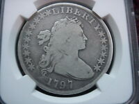 1797 10X6 US DRAPED BUST SILVER DOLLAR GOOD G 4 G4 NGC BEST LOOKING GOOD EVER