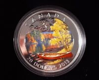 2013 $20 AUTUMN BLISS   PURE SILVER COIN