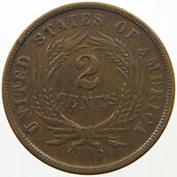 UNITED STATES 2 CENTS 1864  T26 057