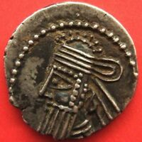KINGS OF PARTHIA. VOLOGASES IV  CA. AD 147 191 . AR DRACHM E