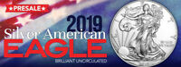 2019 1 OZ. AMERICAN SILVER EAGLE $1 COIN  FRESH FROM MINT ROLL  SPECIAL