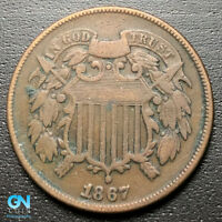 1867 2 CENT PIECE  --  MAKE US AN OFFER  R8109