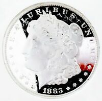 1883CC  MORGAN DOLLAR UDM BU    AWESOME SUPER BLINDER A REMB