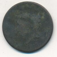 1817 CORONET HEAD LARGE CENT- CIRCULATED EARLY COPPER CENT-SHIPS FREE