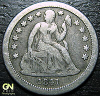 1841 O SEATED LIBERTY DIME  --  MAKE US AN OFFER  Y5718