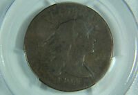 1794 LIBERTY CAP LARGE CENT PCGS GENUINE VG DETAILS