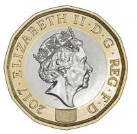 2017 ONE POUND DP COINS