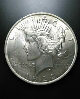1923 PEACE SILVER DOLLAR- MS DETAILS