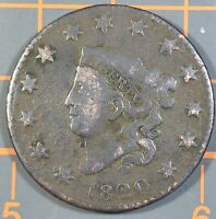 1820 LARGE CENT SMALL DATE