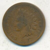 1867 INDIAN HEAD CENT-SEMI KEY DATE- CIRCULATED CENT-SHIPS FREE INV:5