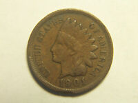 1901 INDIAN HEAD PENNY DETAILS LIBERTY