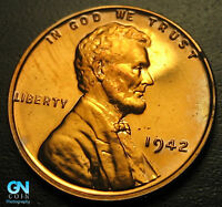 1942 PROOF LINCOLN CENT WHEAT CENT  --  MAKE US AN OFFER  G5287