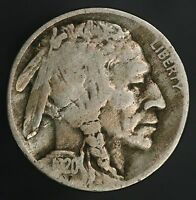 1920-D BUFFALO NICKEL BOLD EARLY DATE LAMINATION MINT ERROR COIN GC537
