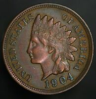 1904 INDIAN HEAD CENT  VINTAGE PENNY GC063