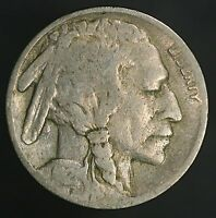 1921-P BUFFALO NICKEL 2 1/2 FEATHER VARIETY AFFORDABLE ERROR COIN GC519