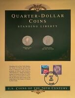 TWO 2 TONED STANDING LIBERTY SILVER QUARTERS ND AND 1929-D  CIRCULATED