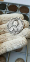 RUSSIA 1762 CNB HK PETER III 1 ROUBLE / RUBLE / RUBEL   GOOD