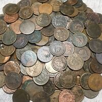 US LARGE CENT 1C PENNY CULL ||| CLASSIC HEAD CORONET BRAIDED HAIR ONE COIN