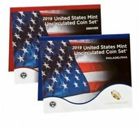 2019 US MINT ANNUAL UNCIRCULATED COIN SET   WITHOUT W CENT