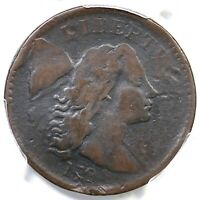 1794 NC-5 R-8 PCGS VG DETAILS HEAD OF 94 LIBERTY CAP LARGE CENT COIN 1C