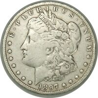 1897-O  $1 MORGAN SILVER DOLLAR AS PICTURED   VAM-5A CLEANED R6   051219