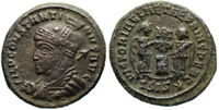 CONSTANTINE I VLPP FROM SISCIA [A.D. 318]NOT IN RIC   UNLISTED WORKSHOP