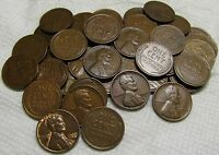 1 ROLL OF 1933 P PHILADELPHIA LINCOLN WHEAT CENTS FROM PENNY