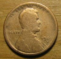 1909 S SAN FRANCISCO LINCOLN WHEAT CENT FROM PENNY COLLECTIO