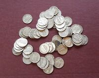 BAG OF 50   MERCURY DIMES   90  SILVER   6619LE1