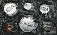 CANADA SILVER FULL COIN SET 1964 PENNY TO DOLLAR UNC