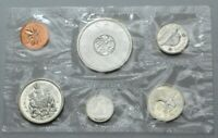 1964 CANADA PROOF LIKE MINT SET WITH SILVER
