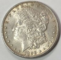 1896 MORGAN SILVER DOLLAR. VAM 5A.