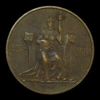 ICELAND 1930 2 KRONOR 1000 YEARS OF ALTHING    WORLD COIN
