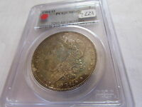 1904 O MORGAN SILVER DOLLAR PCGS MINT STATE 65 TONED COLOR OBVERSE $1 COIN