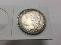 1900-S MORGAN DOLLAR- LOVELY TONED HIGH END ALMOST UNCIRCULATED