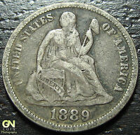 1889 P SEATED DIME  --  MAKE US AN OFFER  W2547  ZXCV