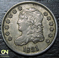 1831 CAPPED BUST HALF DIME R3 LM2  --  MAKE US AN OFFER  O5700