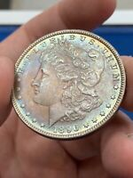 1896 MORGAN SILVER DOLLAR VAM 19 MPD LDS TOP 100  8/12/19, SHIPS FREE
