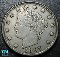 1897 LIBERTY V NICKEL  --  MAKE US AN OFFER  G9227