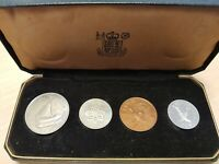 1964 SOUTH ARABIA 4 COIN PROOF SET
