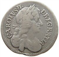 GREAT BRITAIN FOURPENCE 1679 CHARLES II. T78 179