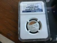 2012 S PF 70 SILVER CHACO PROOF QUARTER EARLY RELEASE NGC CE