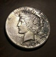 1925-S PEACE SILVER DOLLAR - YOU GRADE - NO RESERVE - COMBINED SHIPPING