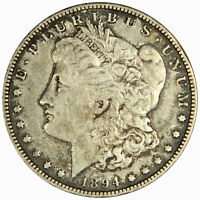 1894-O MORGAN DOLLAR -  & BOLD VF - PRICED RIGHT INVFLDR