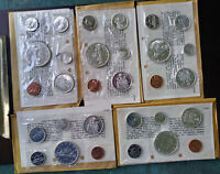 6 COIN 1965 CANADA PROOF LIKE SETS IN ORIGINAL PACKAGING LOT